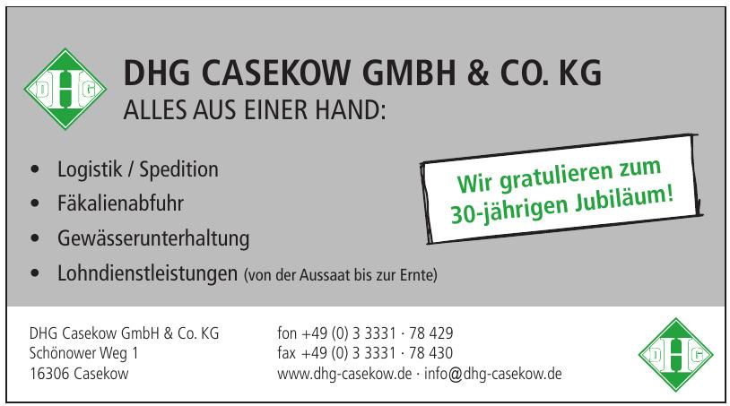 DHG Casekow GmbH & Co. KG