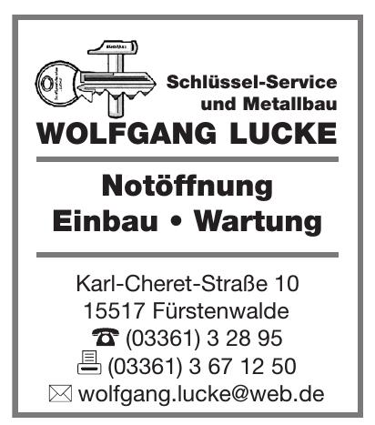 Wolfgang Lucke