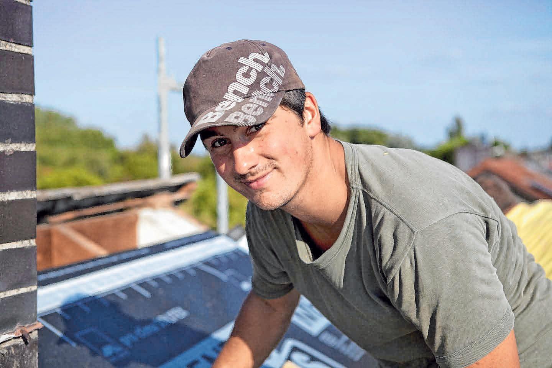 Dachdecker ist ein spannender Beruf. FOTO: PRO CLIMA