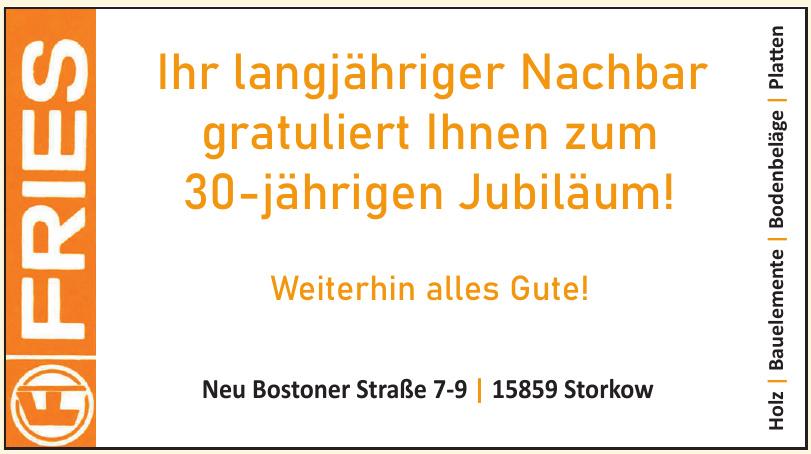 Fries Holz, Bauelemente, Bodebeläge, Platten