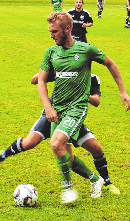 Lindaus Spielertrainer Marco Mayer lässt die Mannschaft am Mittwoch entscheiden, ob er von Beginn an spielen soll.