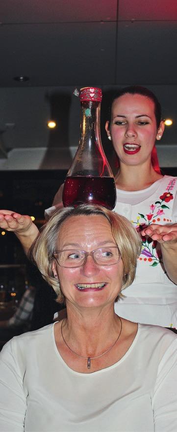 Petra Buse beweist Ruhe und Ausgeglichenheit.