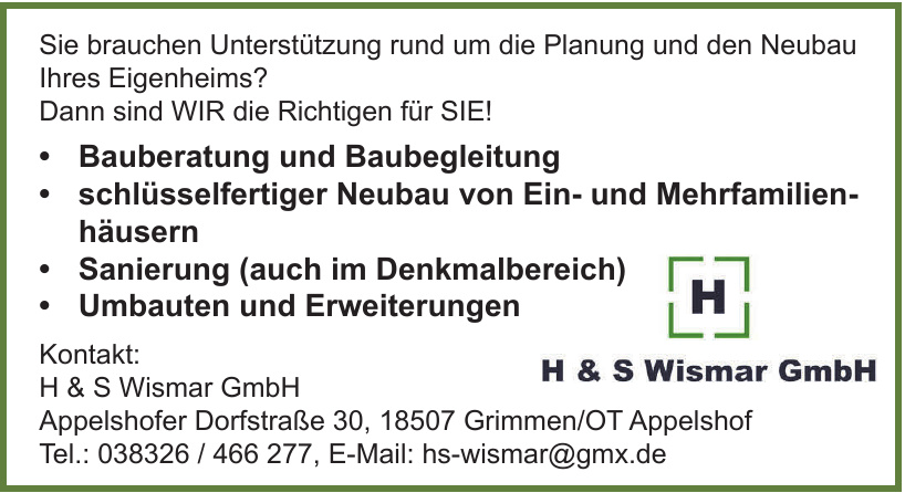 H & S Wismar GmbH