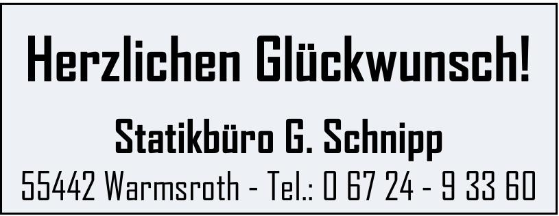 Statikbüro G. Schnipp