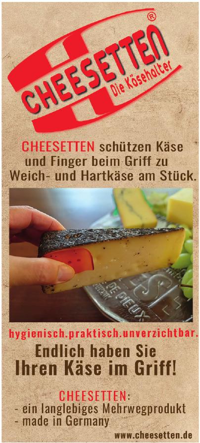 Cheesetten - Die Käsehalter