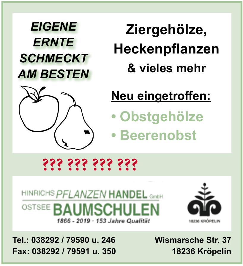 Hinrichs Pflanzen Handel GmbH