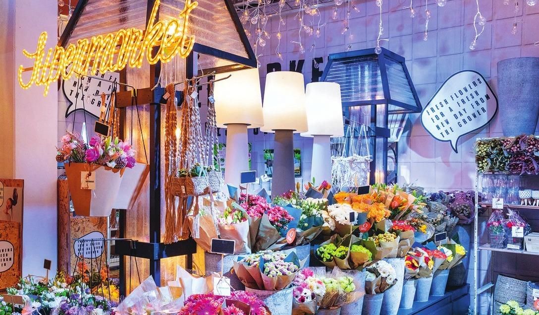Der Retail Boulevard bot zahlreiche Anregungen für Gartencenter.