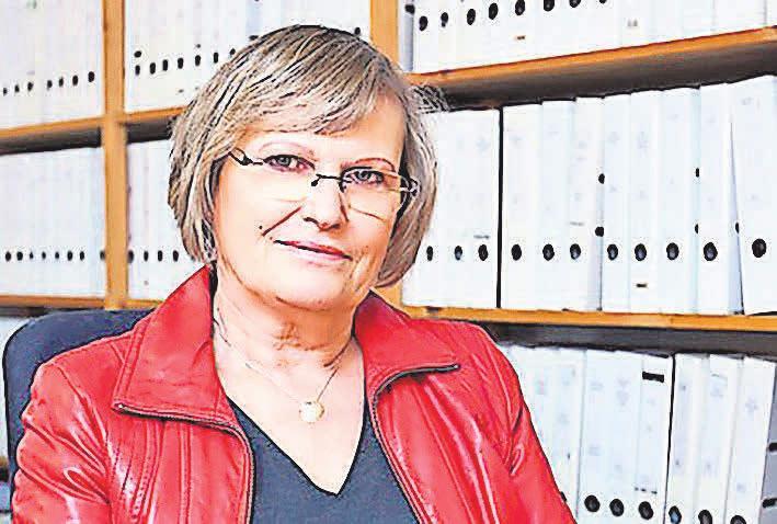 Astrid Gehrke ist seit 25 Jahren mit der Firma DATAC – Bürodienstleistungen erfolgreich.