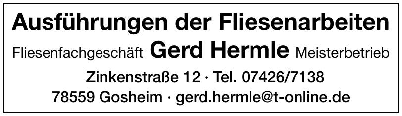 Fliesenfachgeschäft Gerd Hermle Meisterbetrieb