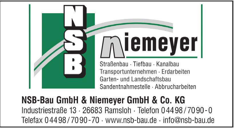 NSB-Bau GmbH & Niemeyer GmbH & Co. KG