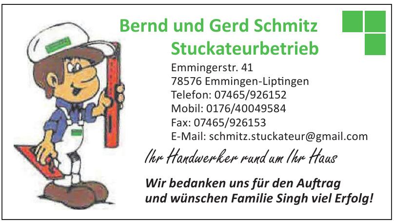 Bernd und Gerd Schmitz Stuckateurbetrieb