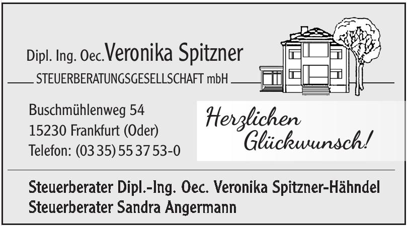 Dipl. Ing. Oec.Veronika Spitzner Steuerberatungsgesellschaft mbH