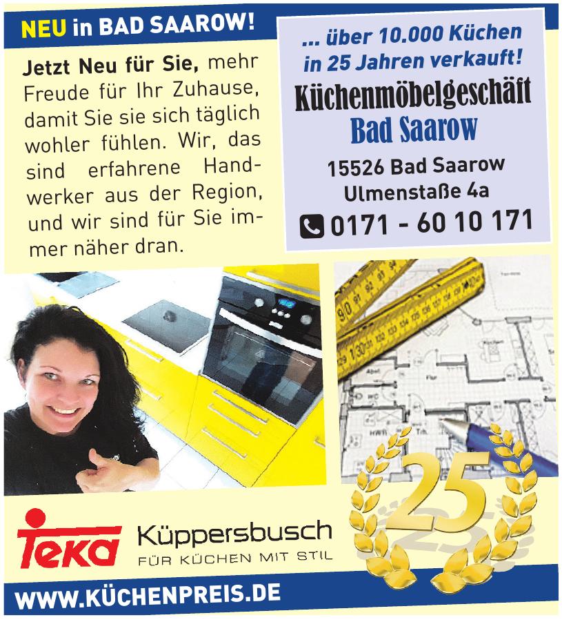 Küchenmöbelgeschäft Bad Saarow