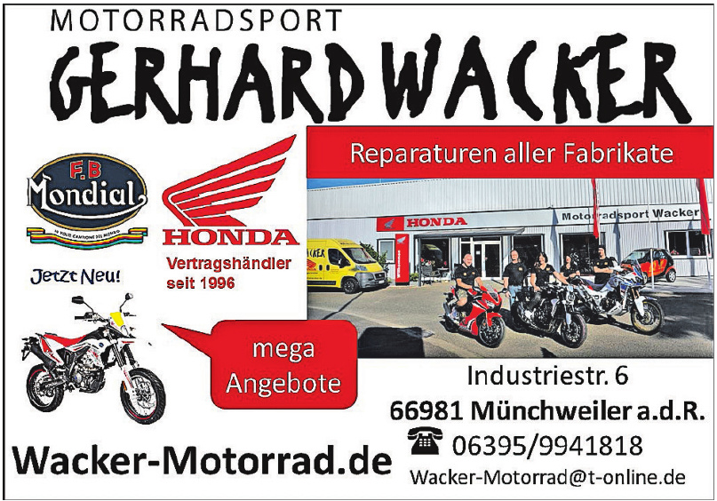 Motorradsport Gerhard Wacker