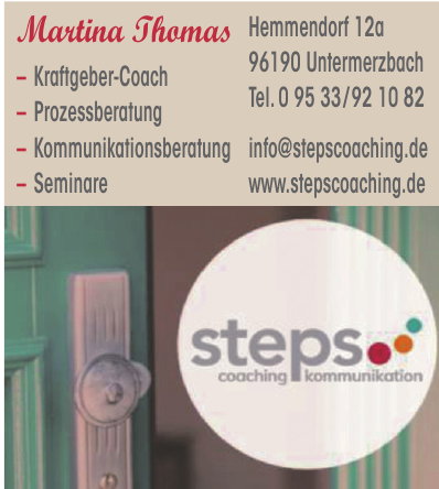 Steps coaching kommunikation