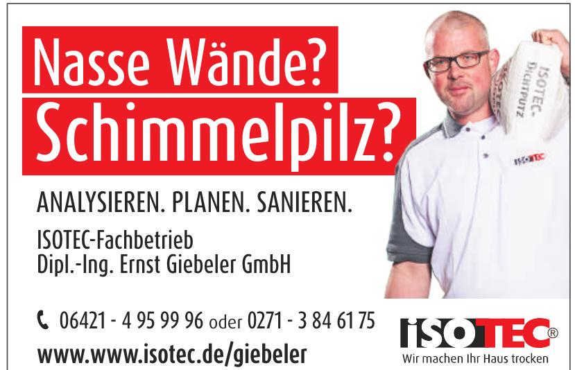 ISOTEC-Fachbetrieb Dipl.-Ing. Ernst Giebeler GmbH