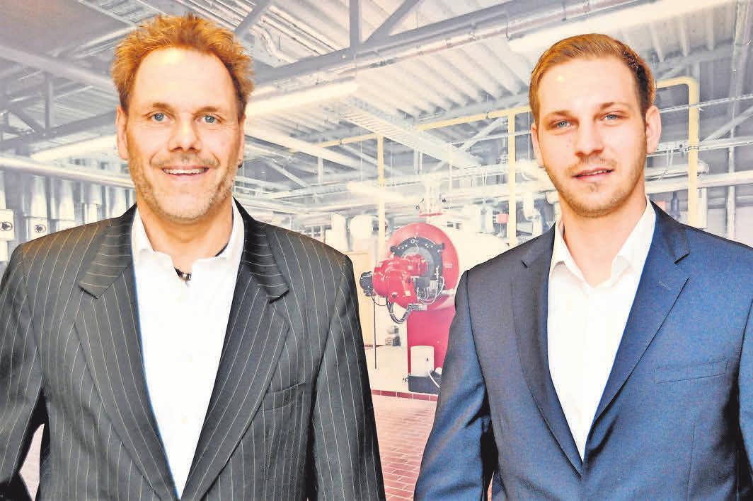 Lothar Müller (links) und Patrick Hohe leiten die Geschicke des Unternehmens gemeinsam in zweiter und dritter Generation.