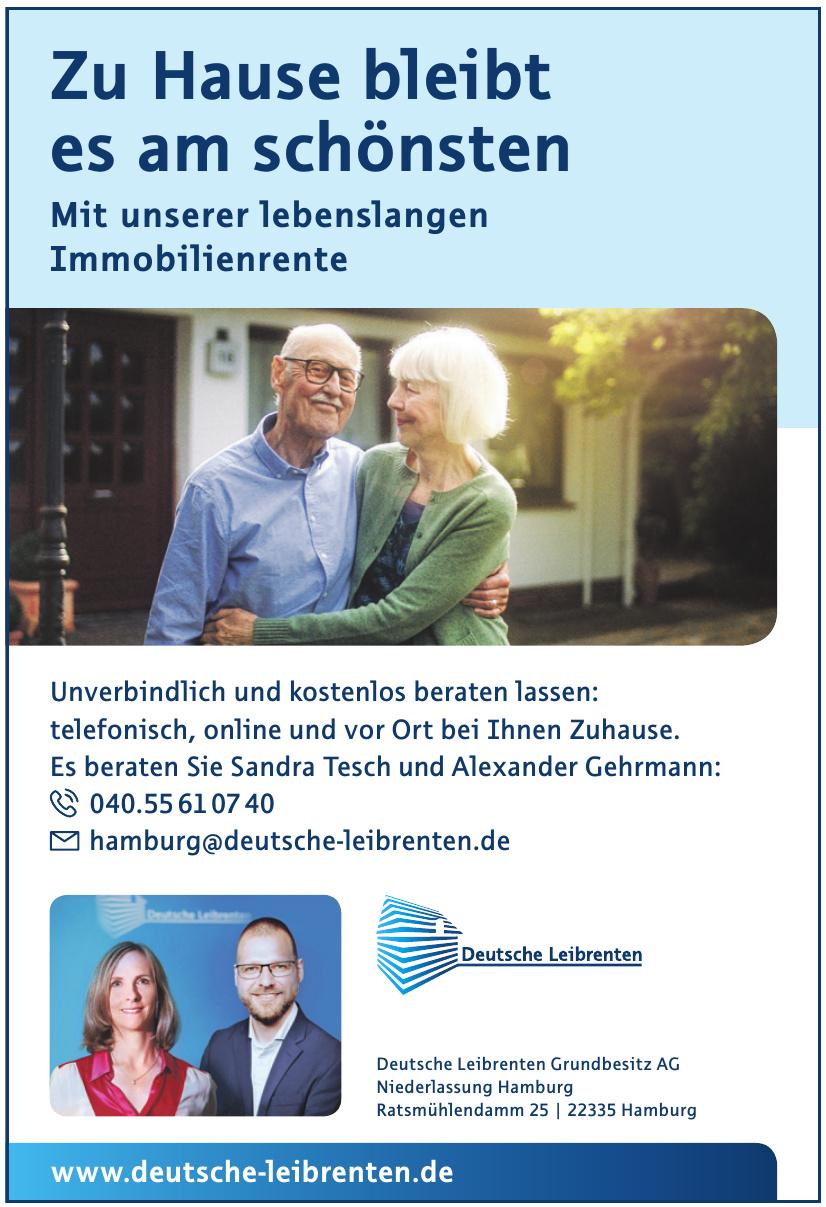 Deutsche Leibrenten Grundbesitz AG Niederlassung Hamburg