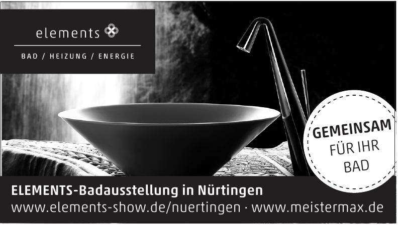 ELEMENTS-Badausstellung
