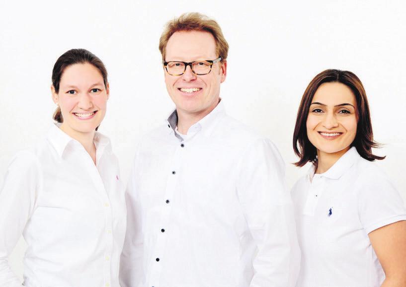 Ihre Ärzte im fertilitycenter: Dr. Antonia Wenners, Dr. Martin Völckers, Dr. Nevin Inan