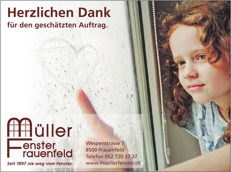 Müller Fenster Frauenfled