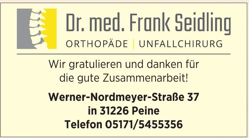 Dr. med. Frank Seidling