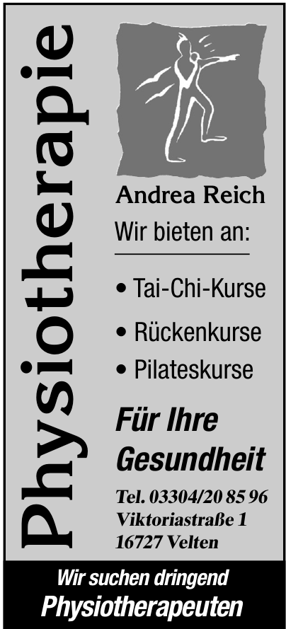 Physiotherapie Andrea Reich