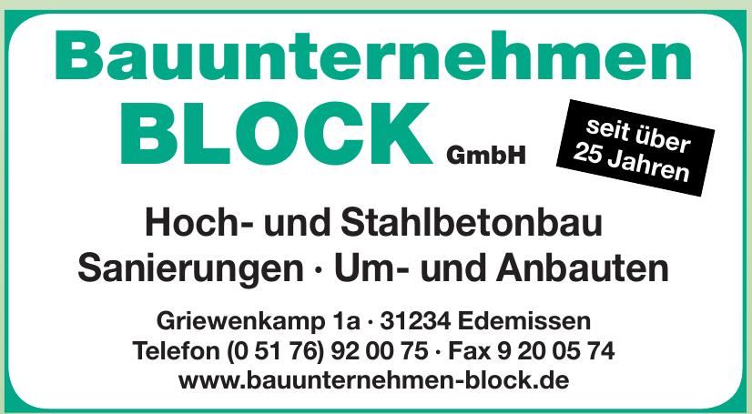 Bauunternehmen Block GmbH