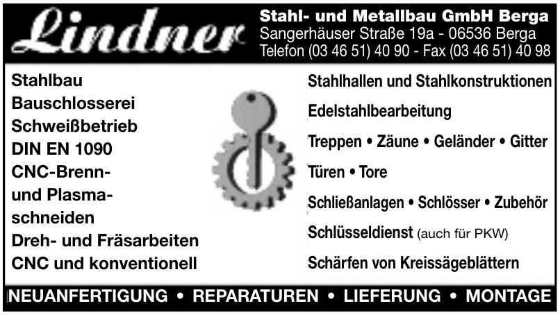 Lindner Stahl- und Metallbau GmbH Berga