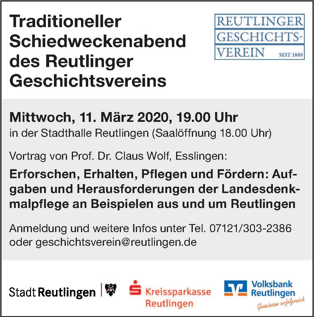 Reutlinger Geschitsverein