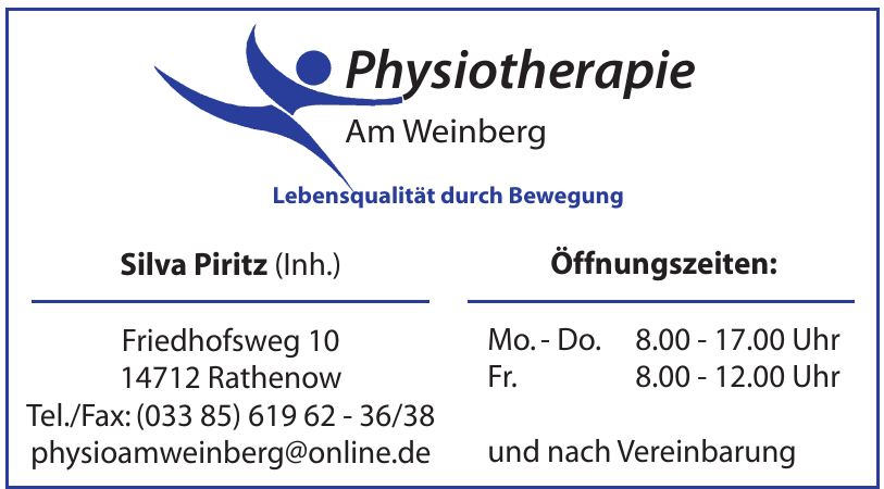 Physiotherapie Am Weinberg