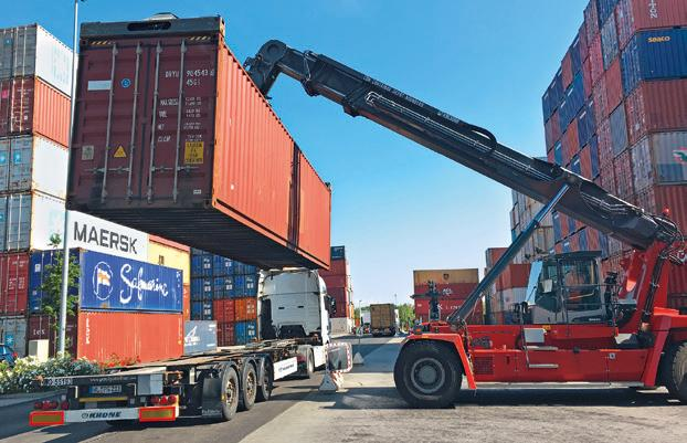 IGS has been involved in container trucking since its foundation and has continued to develop in this area.