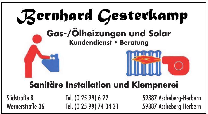 Bernhard Gesterkamp