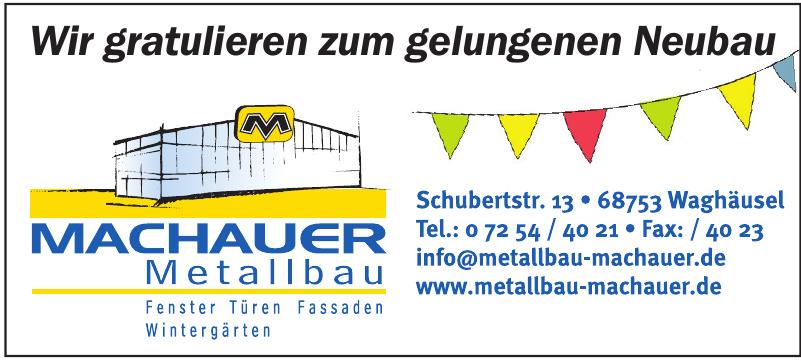 Metallbau Machauer