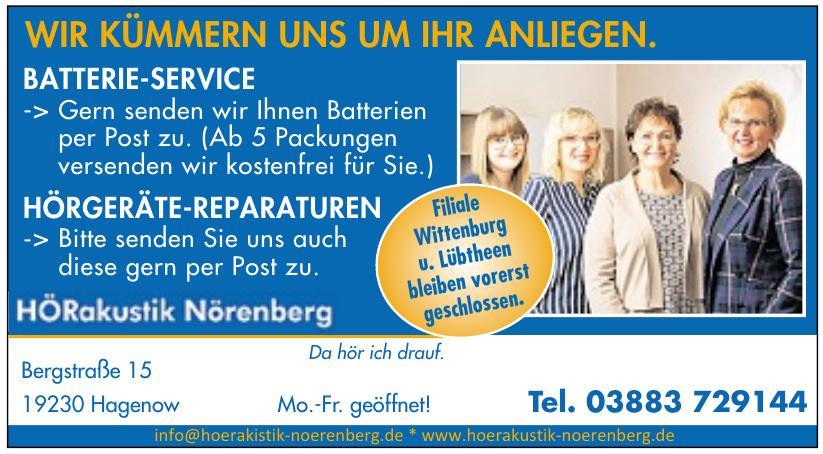 Hörakustik Nörenberg