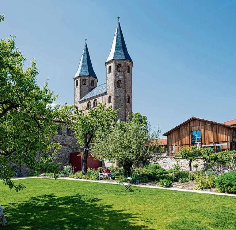 Im Kloster Drübeck können die Besucher viel über die bewegte Geschichte erfahren. Foto: VS-Archiv