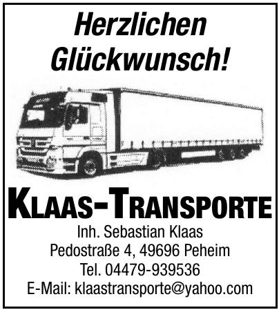 Klaas-Transporte