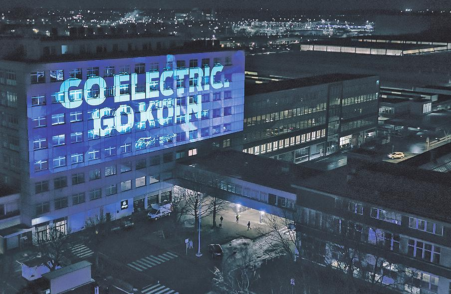 Der Automobilhersteller setzt in Köln auf Elektroantrieb Bild: Ford