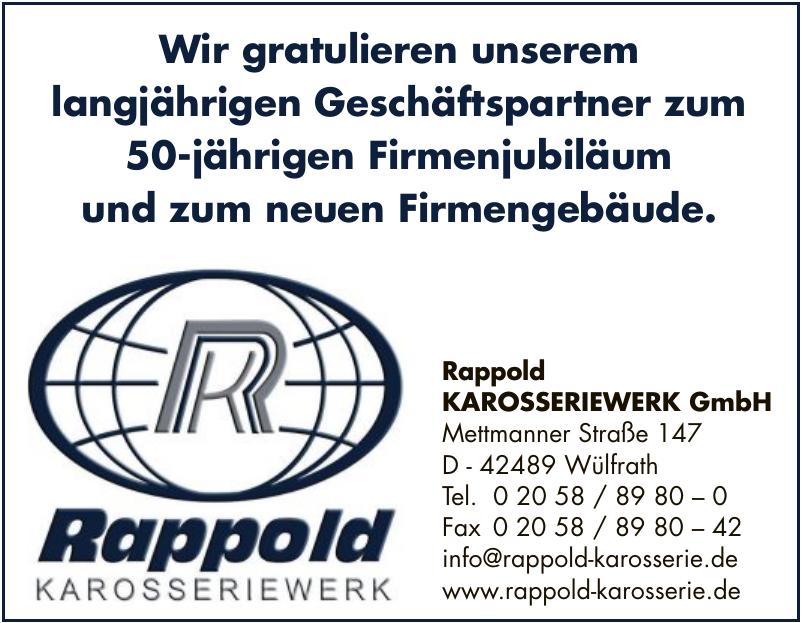 Rappold KAROSSERIEWERK GmbH