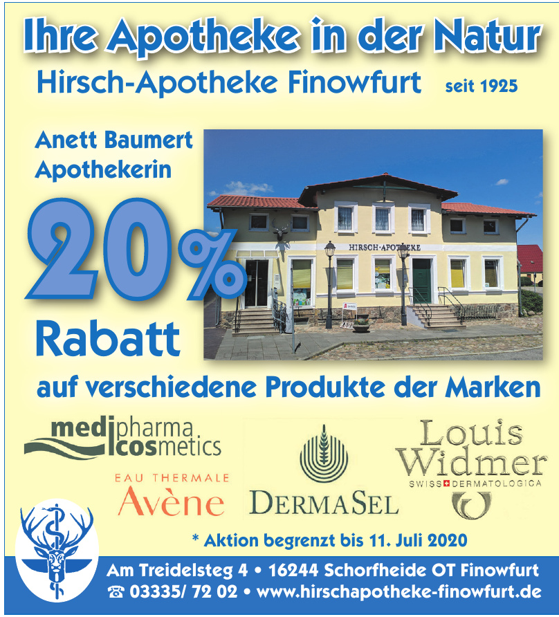 Hirsch-Apotheke Finowfurt