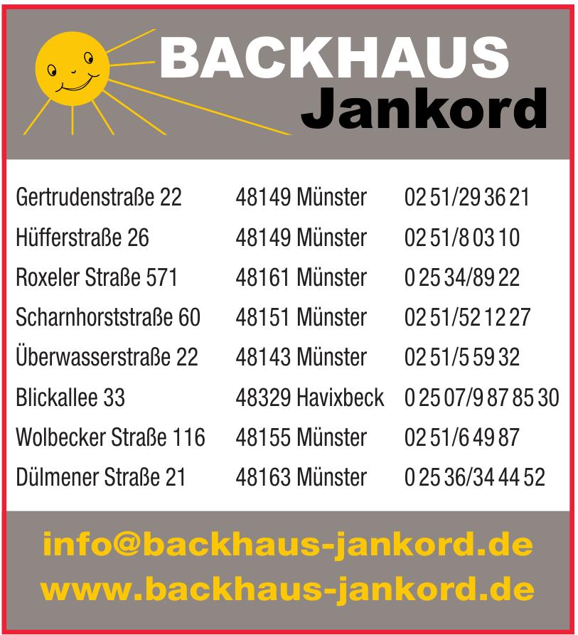 Backhaus Jankord