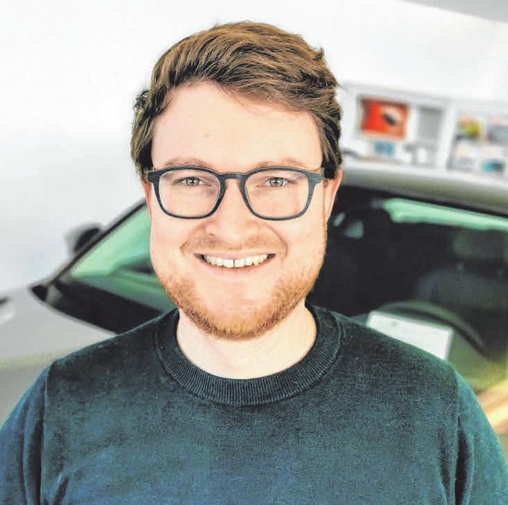 Michael Biggel, Vorstand des Handels- und Gewerbevereins Kressbronn, freut sich, dass viele KRessbronner Händler die Corona-Zeit genutzt haben, um neue Ideen zu entwickeln FOTO: PR/AH