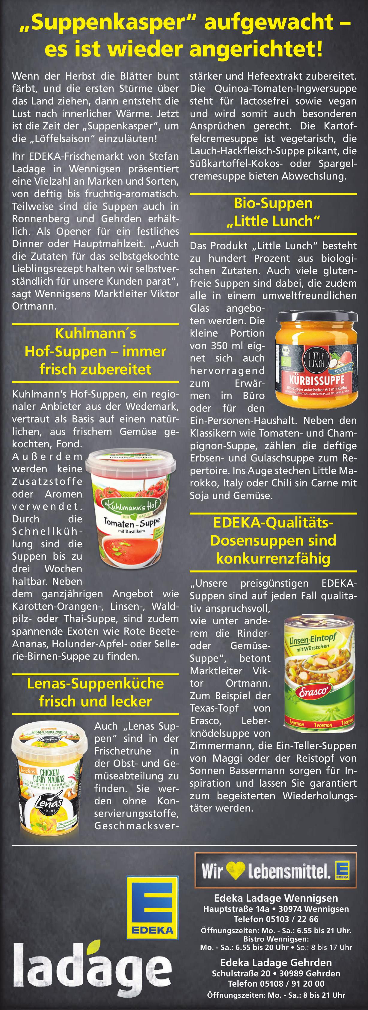 Edeka Ladage Wennigsen