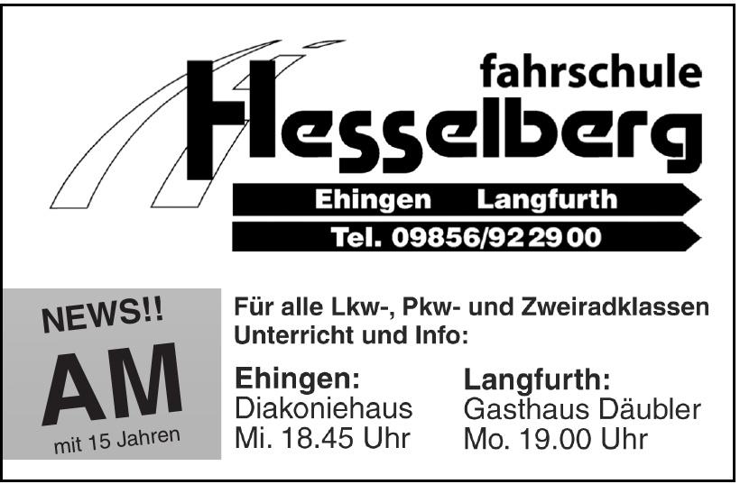Hesselberg Fahrschule
