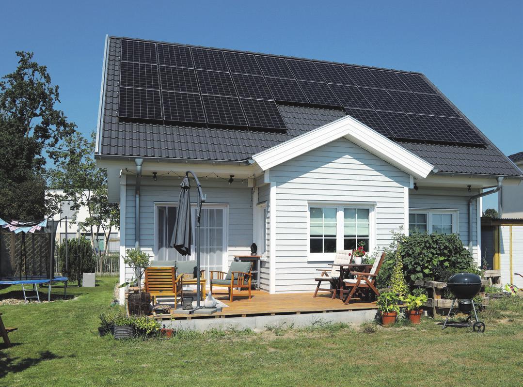 Nachhaltig und kostensparend. Foto: Danhaus