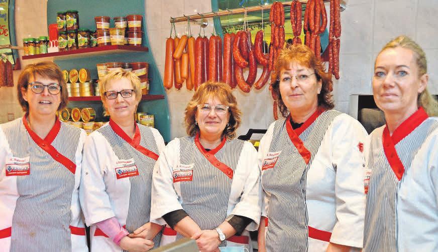In Gehrden betreut das Team mit Kerstin Ruhkopf (von links), Anja Eichenberg-Müller, Anja Kofranek, Karin Roschitzki und Ute Knigge die Kunden.
