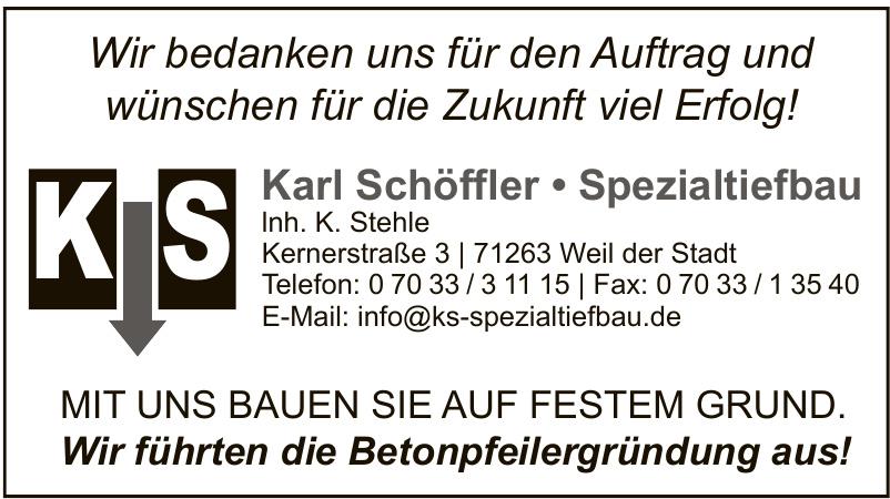 Karl Schöffler Spezialtiefbau