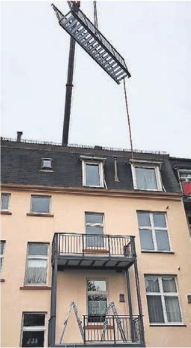 Nachträglicher Balkonanbau: Die Fachleute von FKW-Metallbau sorgen für das Rundum-Sorglos-Paket.