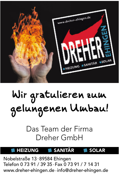 Dreher GmbH Ehingen