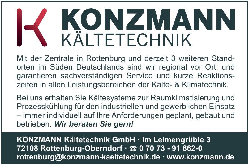 Konzmann Kältetechnik GmbH